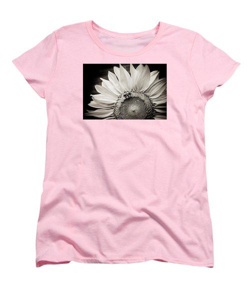 Women's T-Shirt (Standard Cut) featuring the photograph Classic Sunflower by Sara Frank
