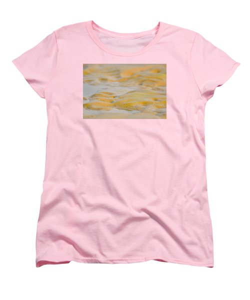 Coastal Abstract Women's T-Shirt (Standard Cut) by Fotosas Photography