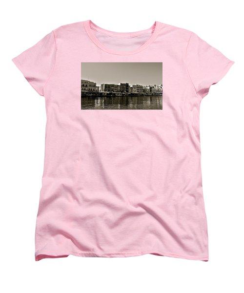 Women's T-Shirt (Standard Cut) featuring the photograph Crete Reflected by Eric Tressler