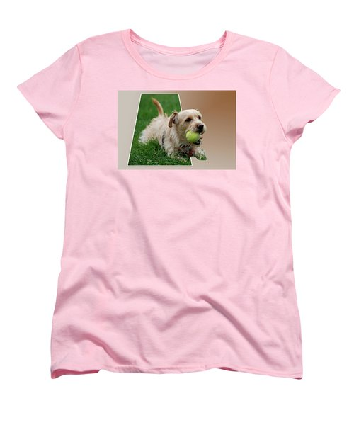Women's T-Shirt (Standard Cut) featuring the photograph Cruz My Ball by Thomas Woolworth