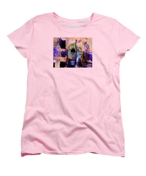 Curiosity Women's T-Shirt (Standard Cut) by Fania Simon