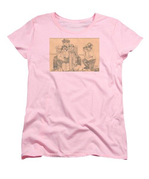 Family Photo Women's T-Shirt (Standard Cut) by Rachel Hershkovitz