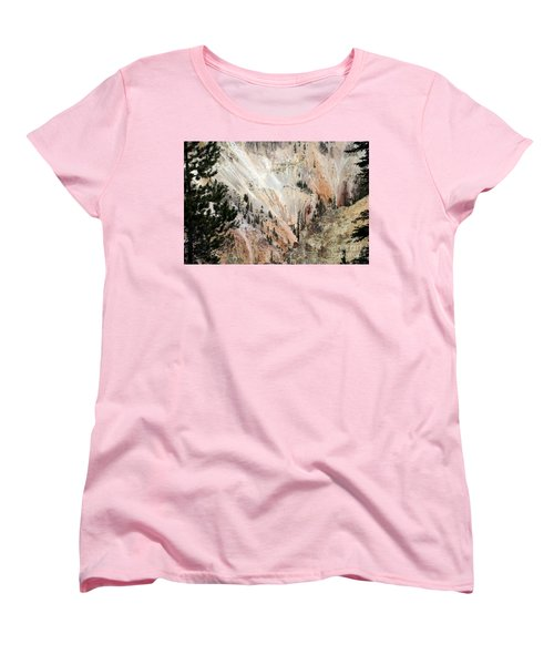 Grand Canyon Colors Of Yellowstone Women's T-Shirt (Standard Cut) by Living Color Photography Lorraine Lynch