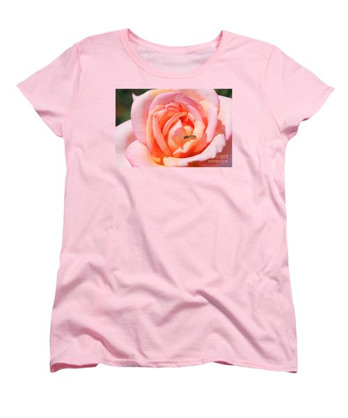 Women's T-Shirt (Standard Cut) featuring the photograph In Search Of Nectar by Fotosas Photography
