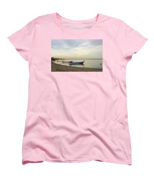 La Paz Waterfront Women's T-Shirt (Standard Cut) by Anne Mott