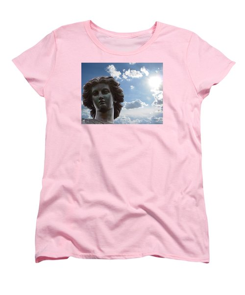 Lady Of The Waters Women's T-Shirt (Standard Cut) by Sarah McKoy
