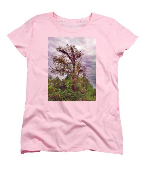 Women's T-Shirt (Standard Cut) featuring the photograph Majestic  by Janice Spivey