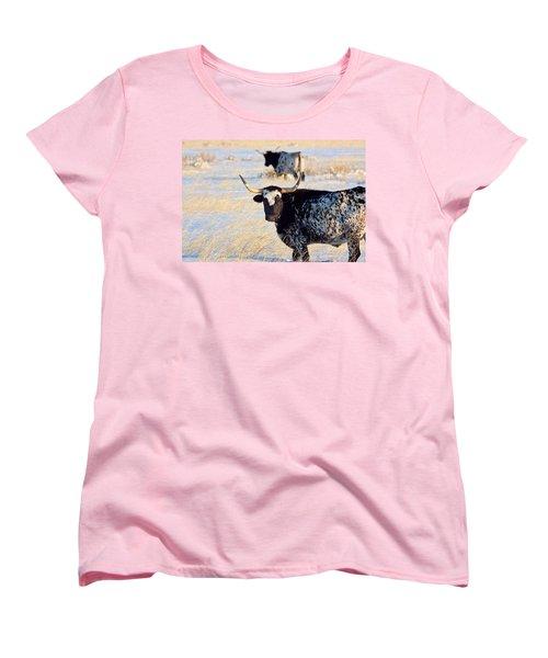 Women's T-Shirt (Standard Cut) featuring the photograph Open Range by Jim Garrison