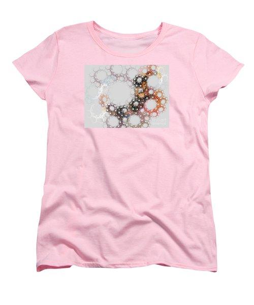 Women's T-Shirt (Standard Cut) featuring the digital art Orbital by Kim Sy Ok