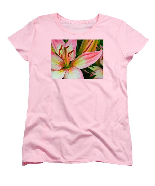 Women's T-Shirt (Standard Cut) featuring the photograph Pastel Pretty by Lynne Jenkins