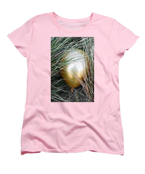 Women's T-Shirt (Standard Cut) featuring the photograph Playing Hide And Seek by Steve Taylor