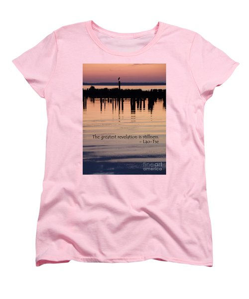 Women's T-Shirt (Standard Cut) featuring the photograph Revelation by Lainie Wrightson