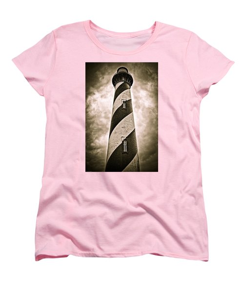 St Augustine Lighthouse Women's T-Shirt (Standard Cut) by Bill Howard