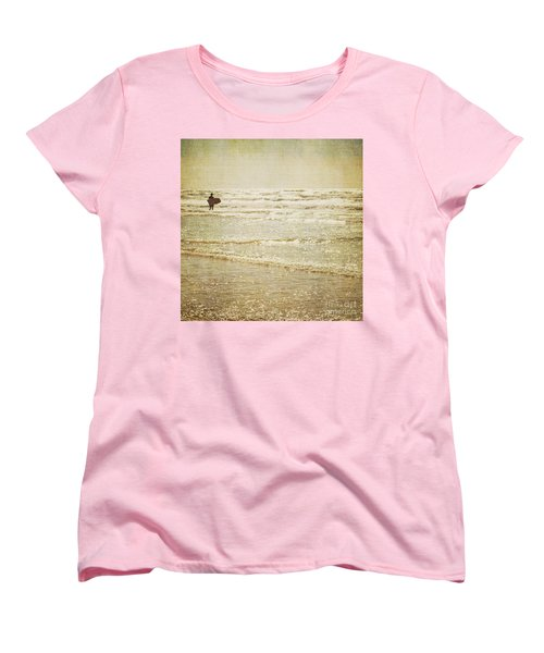 Surf The Sea And Sparkle Women's T-Shirt (Standard Cut) by Lyn Randle