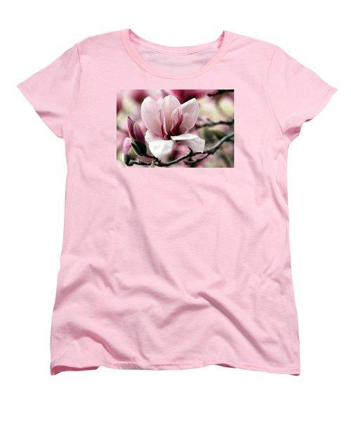 Women's T-Shirt (Standard Cut) featuring the photograph Sweet Magnolia by Elizabeth Winter
