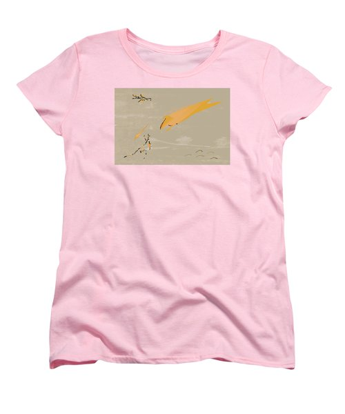The Beast Afoot Women's T-Shirt (Standard Cut) by Kevin McLaughlin
