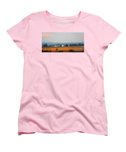 Women's T-Shirt (Standard Cut) featuring the photograph The Countryside by Davandra Cribbie