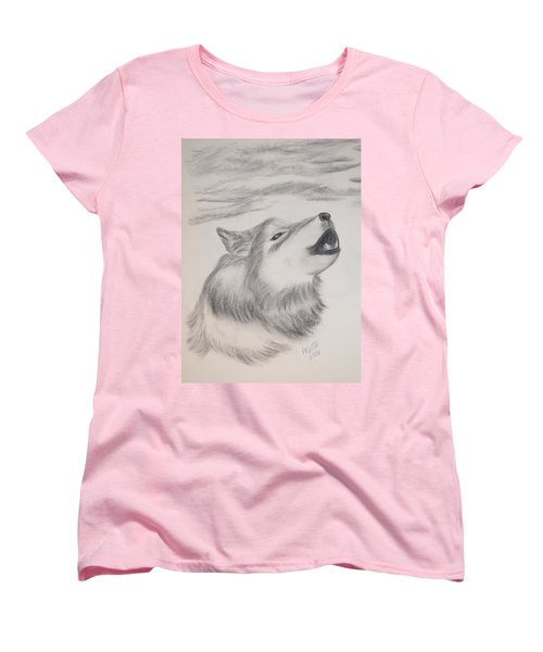 The Howler Women's T-Shirt (Standard Cut) by Maria Urso