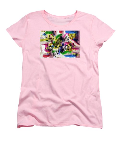 The Music In Me Women's T-Shirt (Standard Cut) by Alec Drake