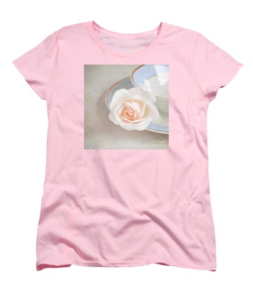 The Sweetest Rose Women's T-Shirt (Standard Cut) by Lyn Randle