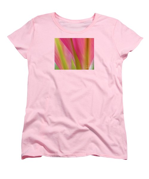 Ti Leaves Women's T-Shirt (Standard Cut) by Ranjini Kandasamy