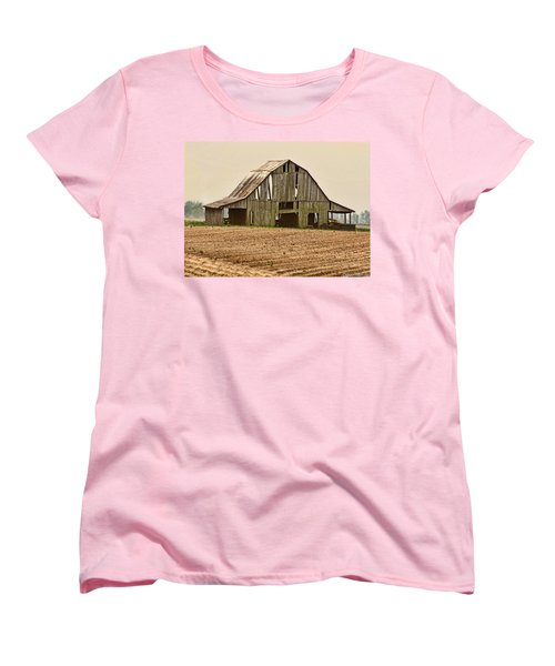 Women's T-Shirt (Standard Cut) featuring the photograph Vanishing American Icon by Debbie Portwood