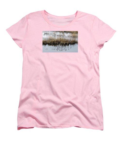 Winter Bouquet Women's T-Shirt (Standard Cut) by I'ina Van Lawick