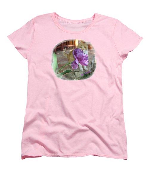 You See Me Women's T-Shirt (Standard Cut) by Vesna Martinjak