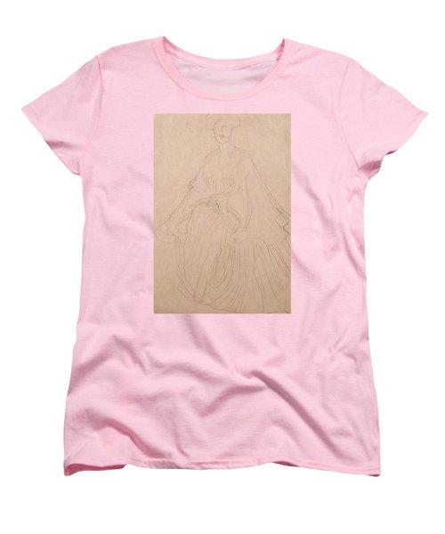 Adele Bloch Bauer Women's T-Shirt (Standard Cut) by Gustav Klimt