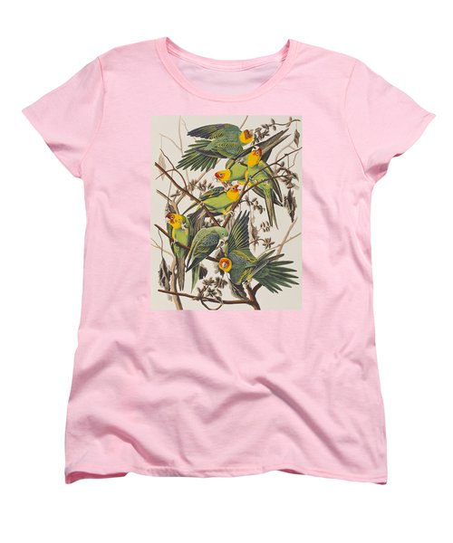 Carolina Parrot Women's T-Shirt (Standard Cut) by John James Audubon