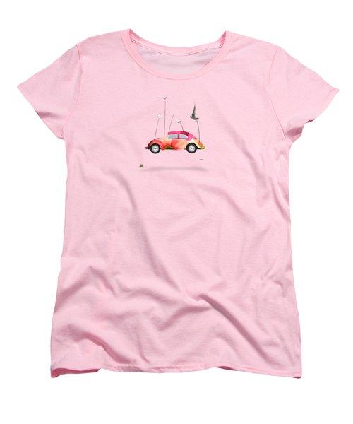 Suriale Cars  Women's T-Shirt (Standard Cut) by Mark Ashkenazi