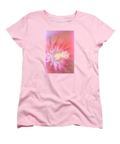 Clematis Women's T-Shirt (Standard Cut) by Bonnie Bruno