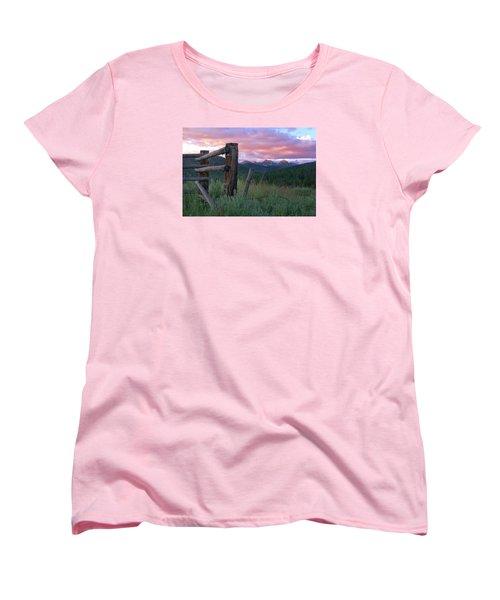 Colorado Glory Women's T-Shirt (Standard Cut) by Ronda Kimbrow