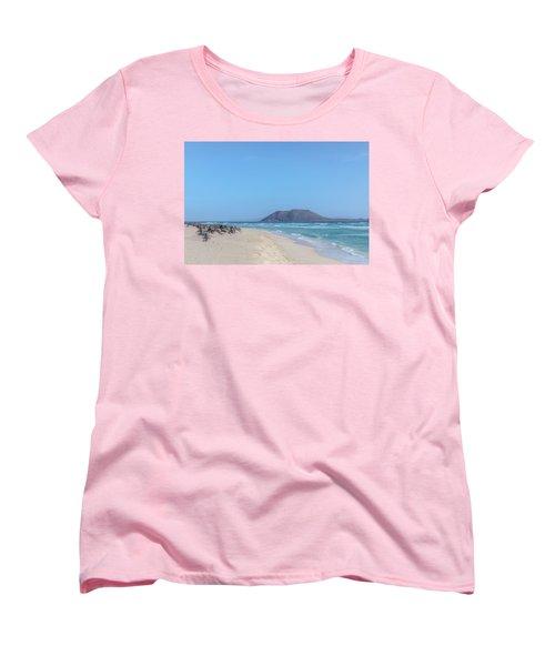 Corralejo - Fuerteventura Women's T-Shirt (Standard Cut) by Joana Kruse