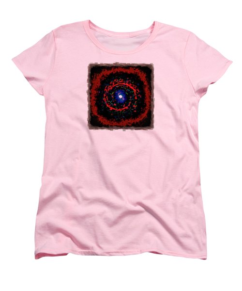 Cosmic Eye 2 Women's T-Shirt (Standard Cut) by John M Bailey