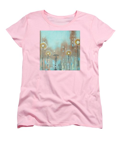 Evening Stroll Women's T-Shirt (Standard Cut) by Raymond Doward