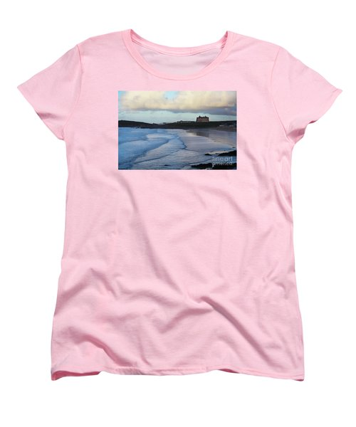 Fistral Beach Women's T-Shirt (Standard Cut) by Nicholas Burningham