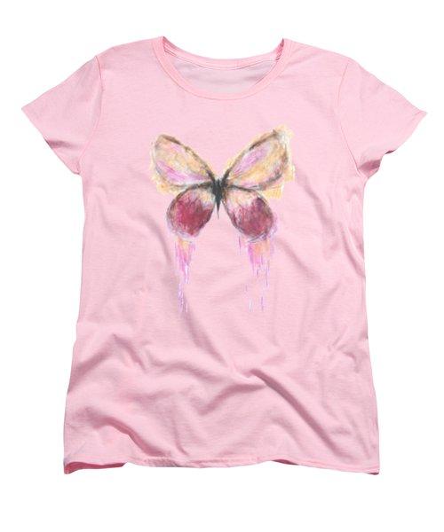 Flutterby  Women's T-Shirt (Standard Cut) by Herb Strobino