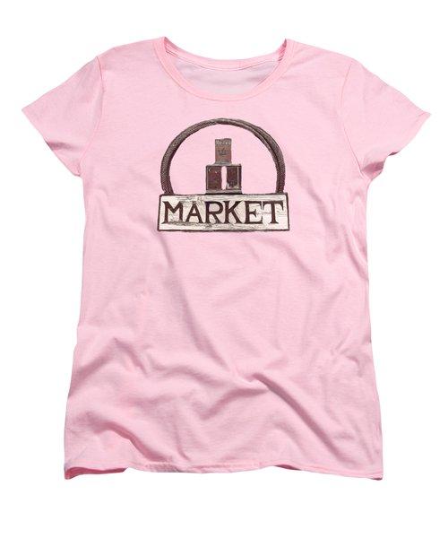Going To The Market Women's T-Shirt (Standard Cut) by Pamela Walton