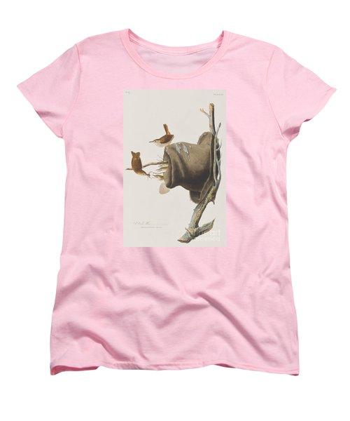 House Wren Women's T-Shirt (Standard Cut) by John James Audubon