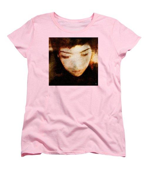 Women's T-Shirt (Standard Cut) featuring the digital art In Thoughts by Gun Legler