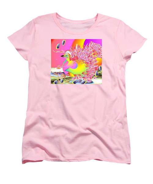 Many Colors Women's T-Shirt (Standard Cut) by Belinda Threeths