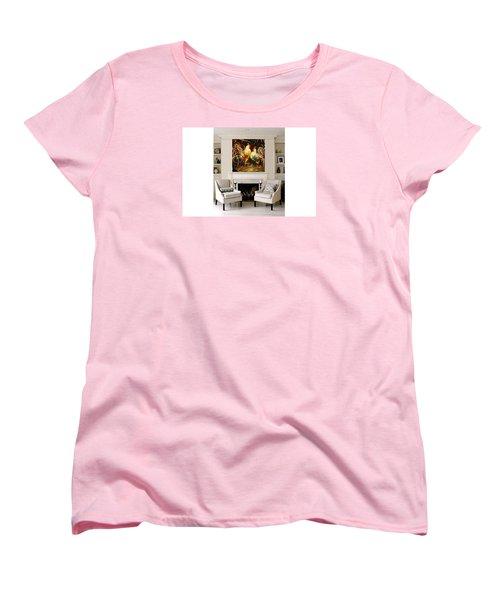Meeting Women's T-Shirt (Standard Cut) by Heather Roddy