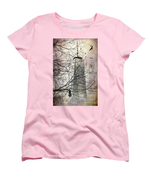 Women's T-Shirt (Standard Cut) featuring the photograph Memorial by Judy Wolinsky