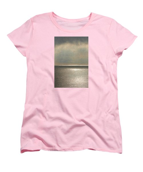 Not Quite Rothko - Twilight Silver Women's T-Shirt (Standard Cut) by Serge Averbukh