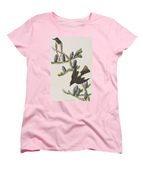 Olive Sided Flycatcher Women's T-Shirt (Standard Cut) by John James Audubon