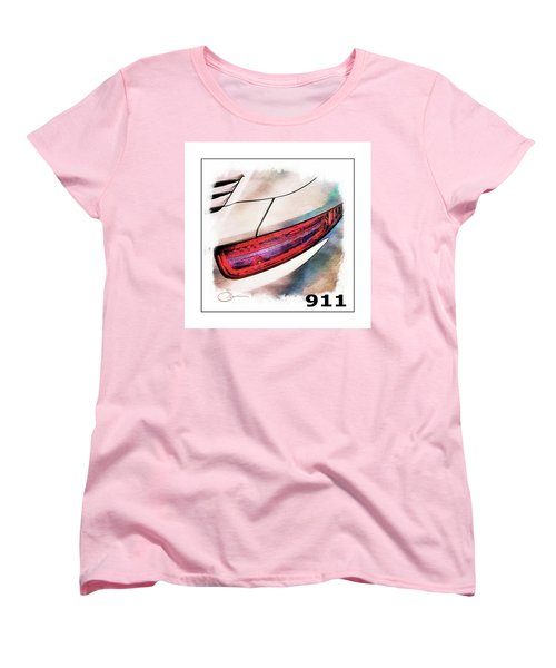 Porsche 911 Women's T-Shirt (Standard Cut) by Robert Smith