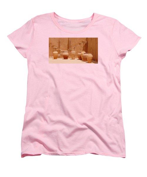 Pots Women's T-Shirt (Standard Cut) by Debi Demetrion