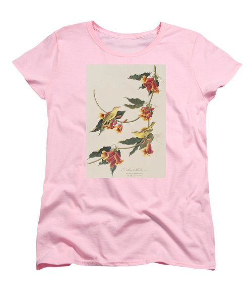 Rathbone Warbler Women's T-Shirt (Standard Cut) by John James Audubon