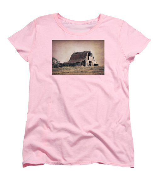 Rustic Barn Women's T-Shirt (Standard Cut) by Tom Mc Nemar